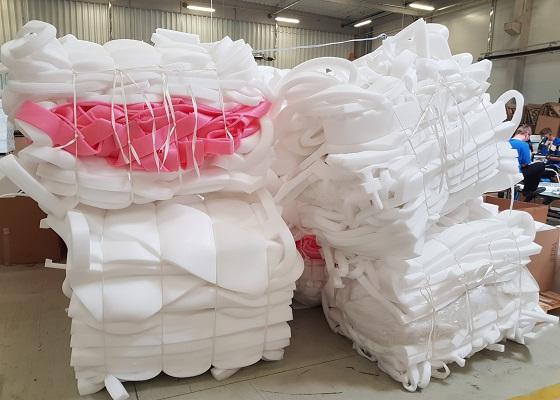 Greenmax Pe Foam Densifier Plays An Important Role In Foam Packaging Industry Plastic Foam News And Foam Recycling Information